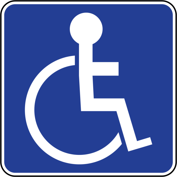 Handicap Sign Disabled Parking