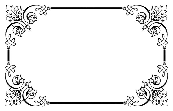 free wedding page borders - clipart
