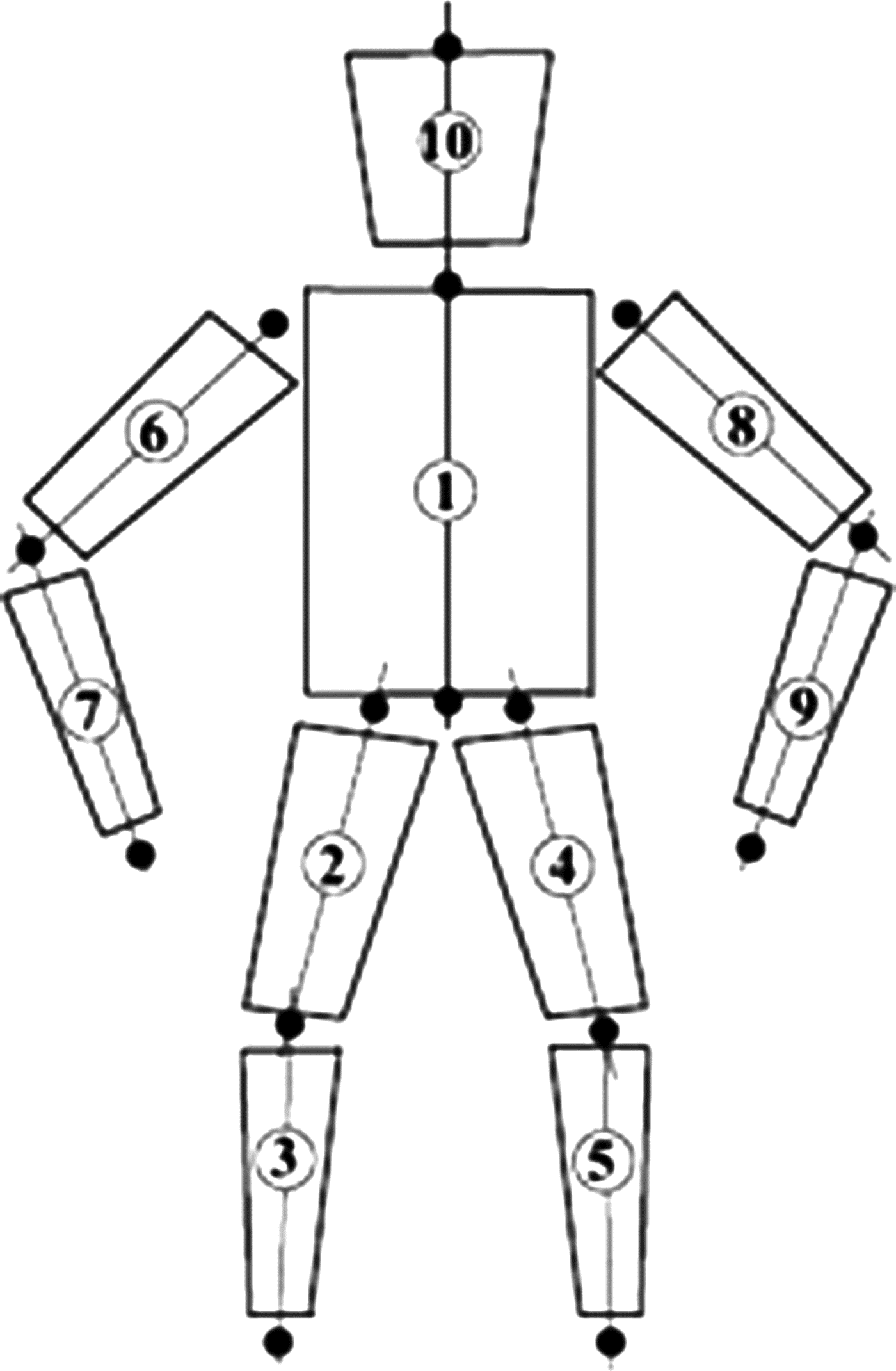 Pin Medical Body Outline