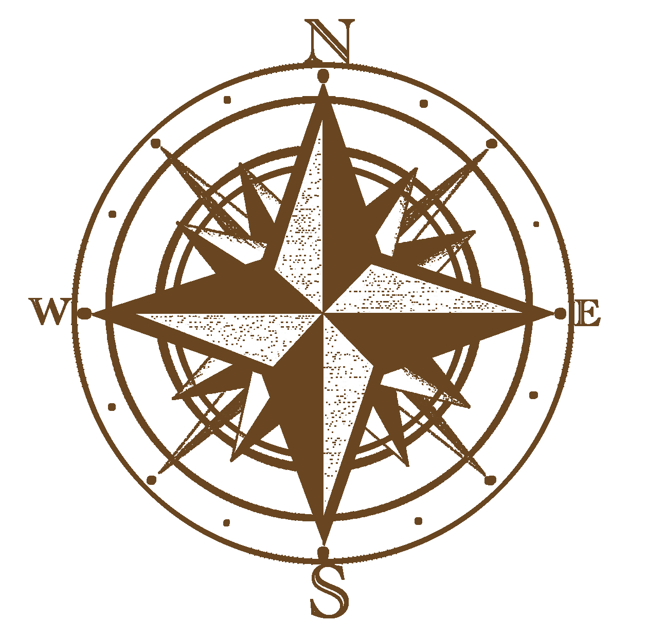 Treasure Map Compass