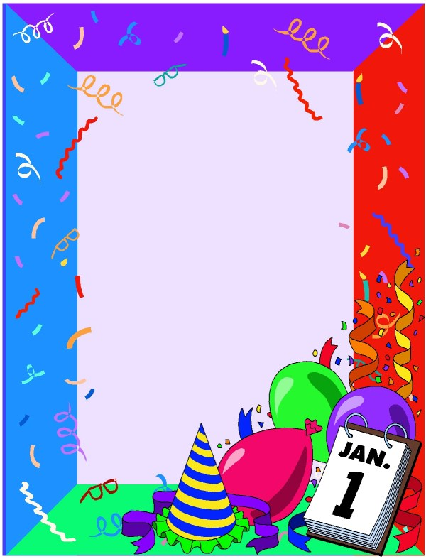 Educational Borders And Frames - Clipart
