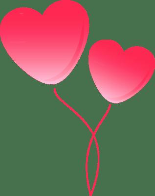 pink clip art balloons - clipart