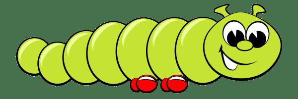caterpillar cartoon drawings