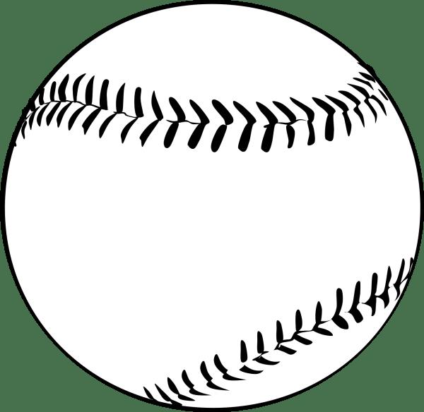 baseball clipart vector