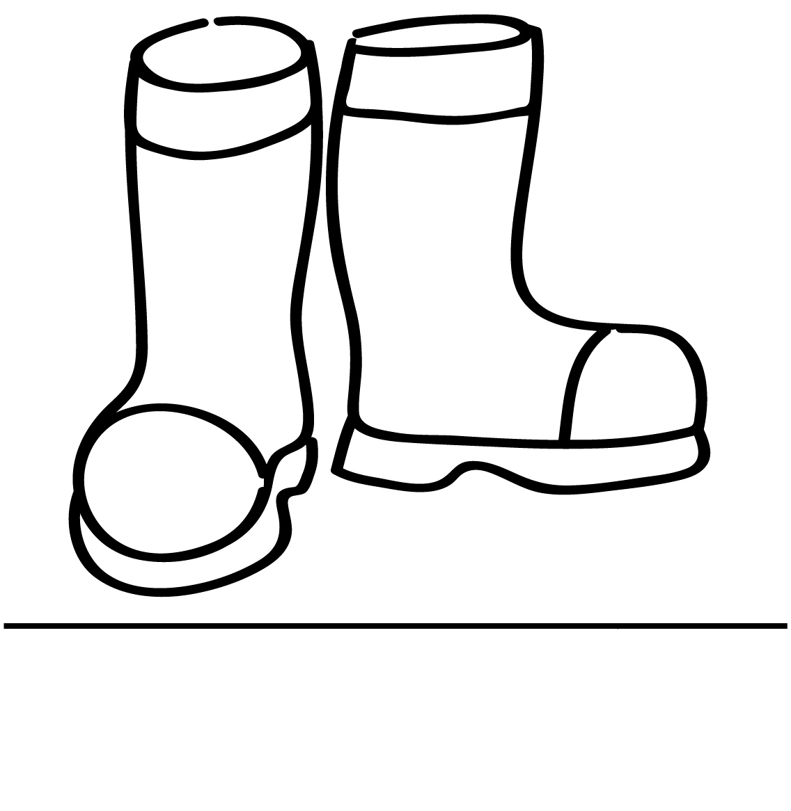 Boots Coloring