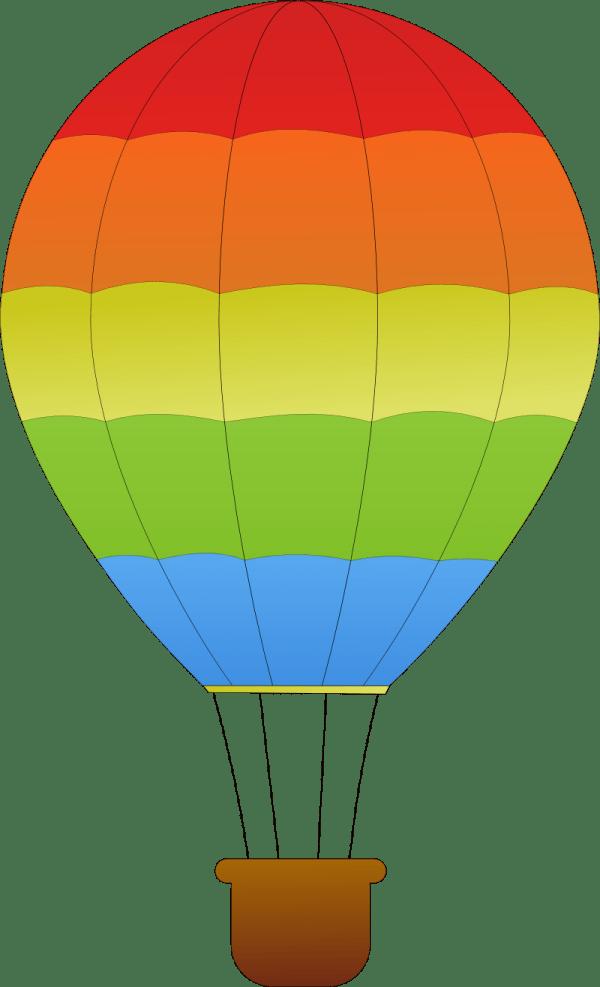 hot air balloon - clipart