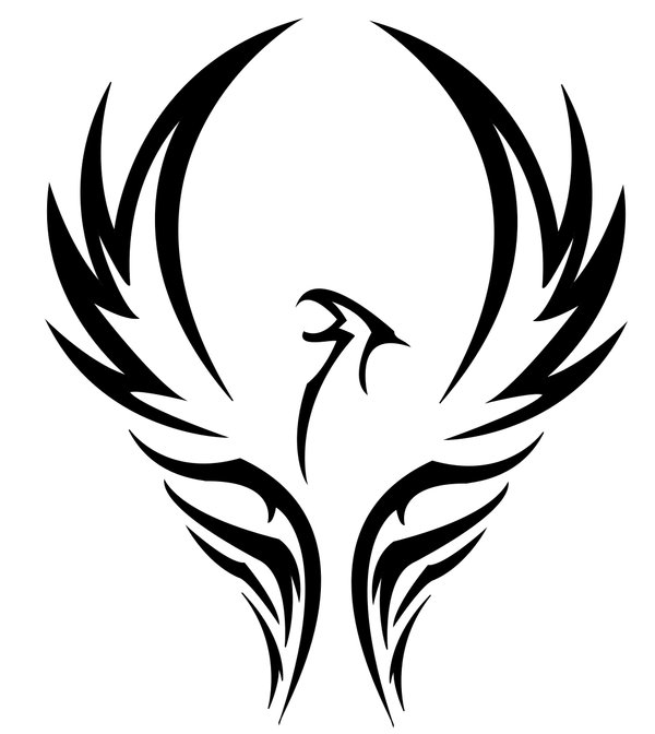 Gallery Tribal Phoenix Bird Logos