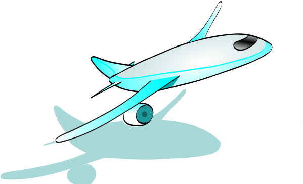 Top Of Airplane - Clipart