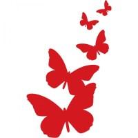 Butterflies Silhouette - ClipArt Best