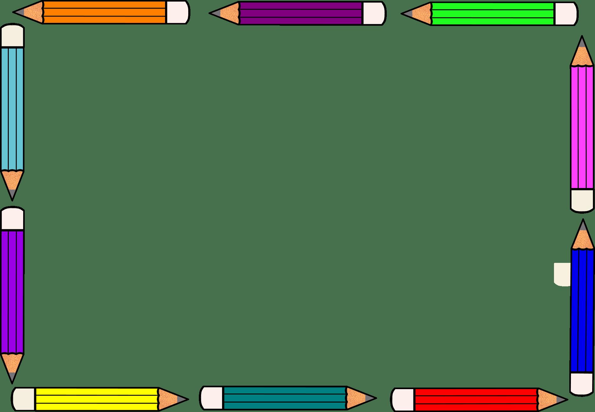 Free Pencil Border
