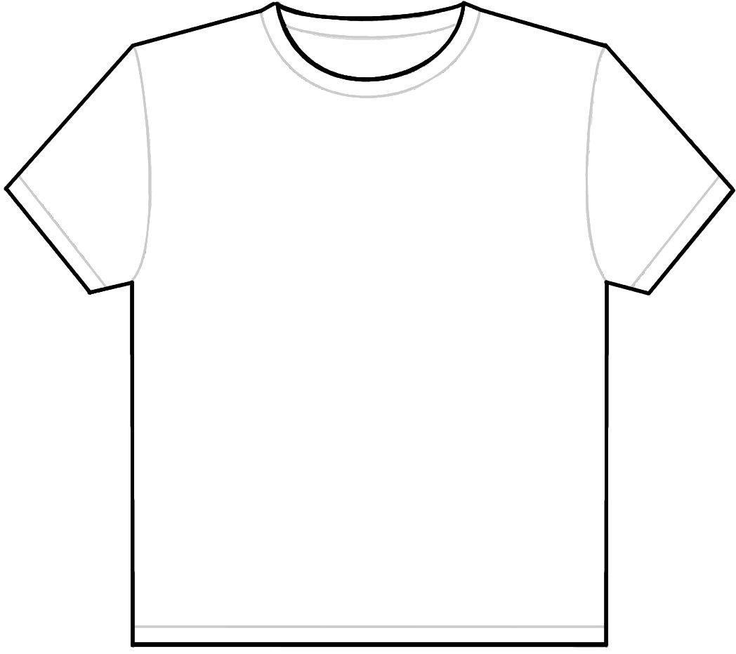 T Shirt Shape Template