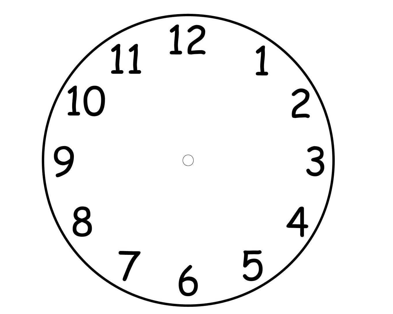 Clock Images To Print
