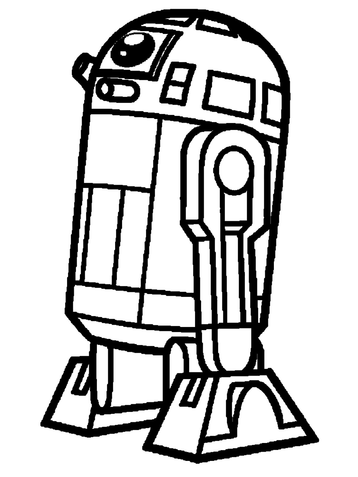 Owl Outline Drawing