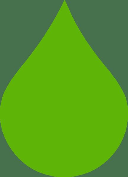 Green Raindrop clip art vector clip art online royalty