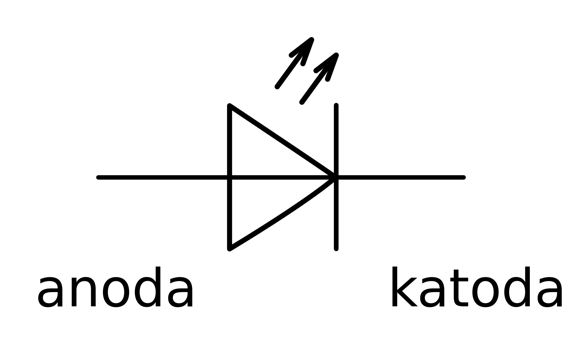 Led Diode Schematic Symbol