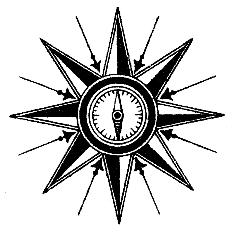 Map Compass Clip Art