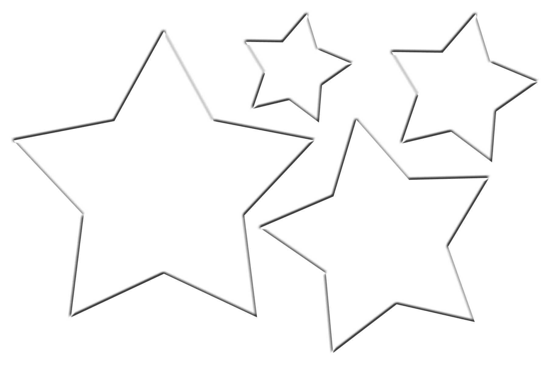 Christmas Star Template