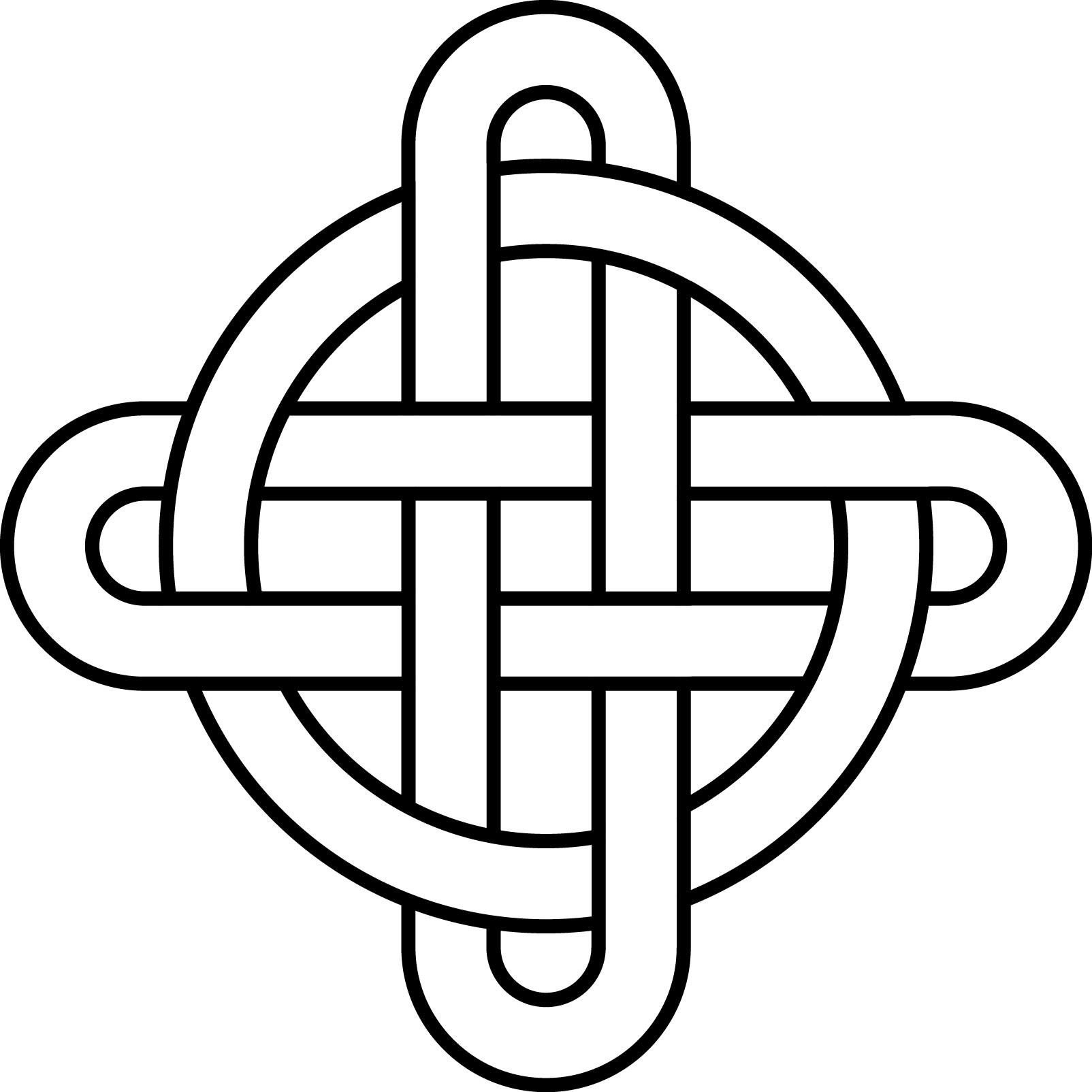 Simple Celtic Knot Designs