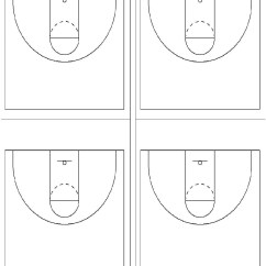 Blank Half Court Basketball Diagram Ford Transit Wiring 2007 Diagrams Printable Clipart Best