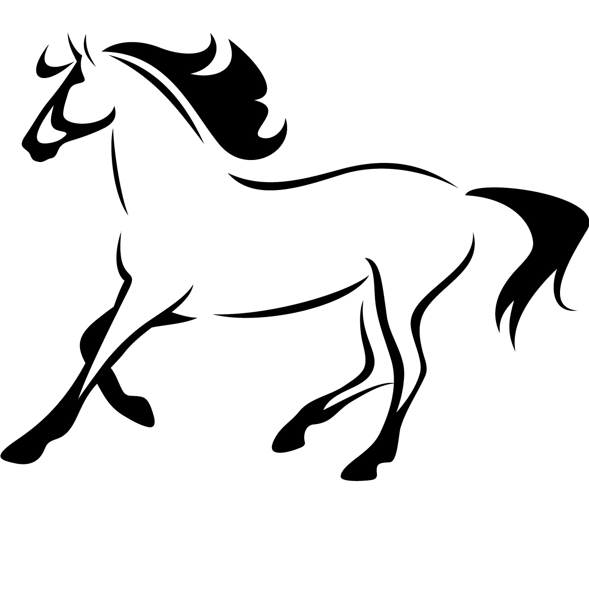 Horse Outlines