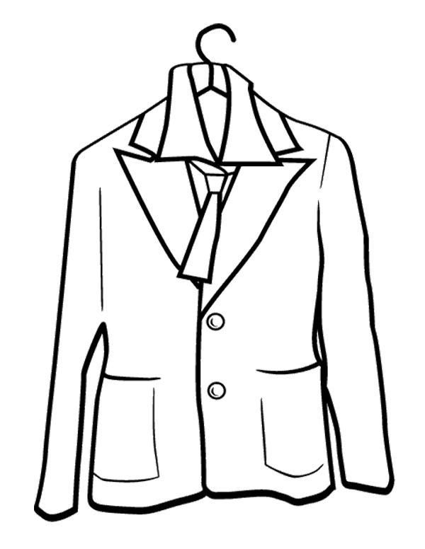 Clipart Winter Jacket