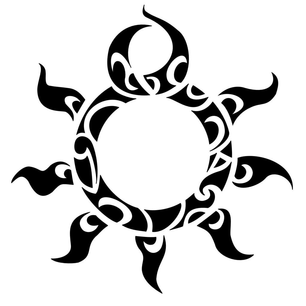 Sun Tribal Vector