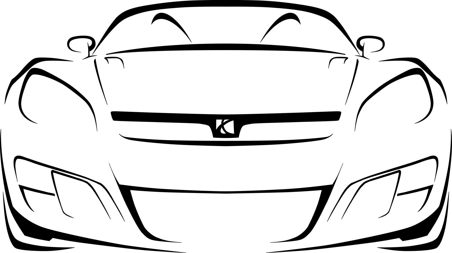 Outlines Of Cars