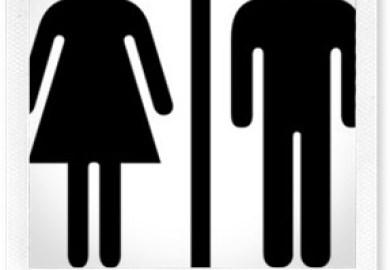 Boys Bathroom Sign