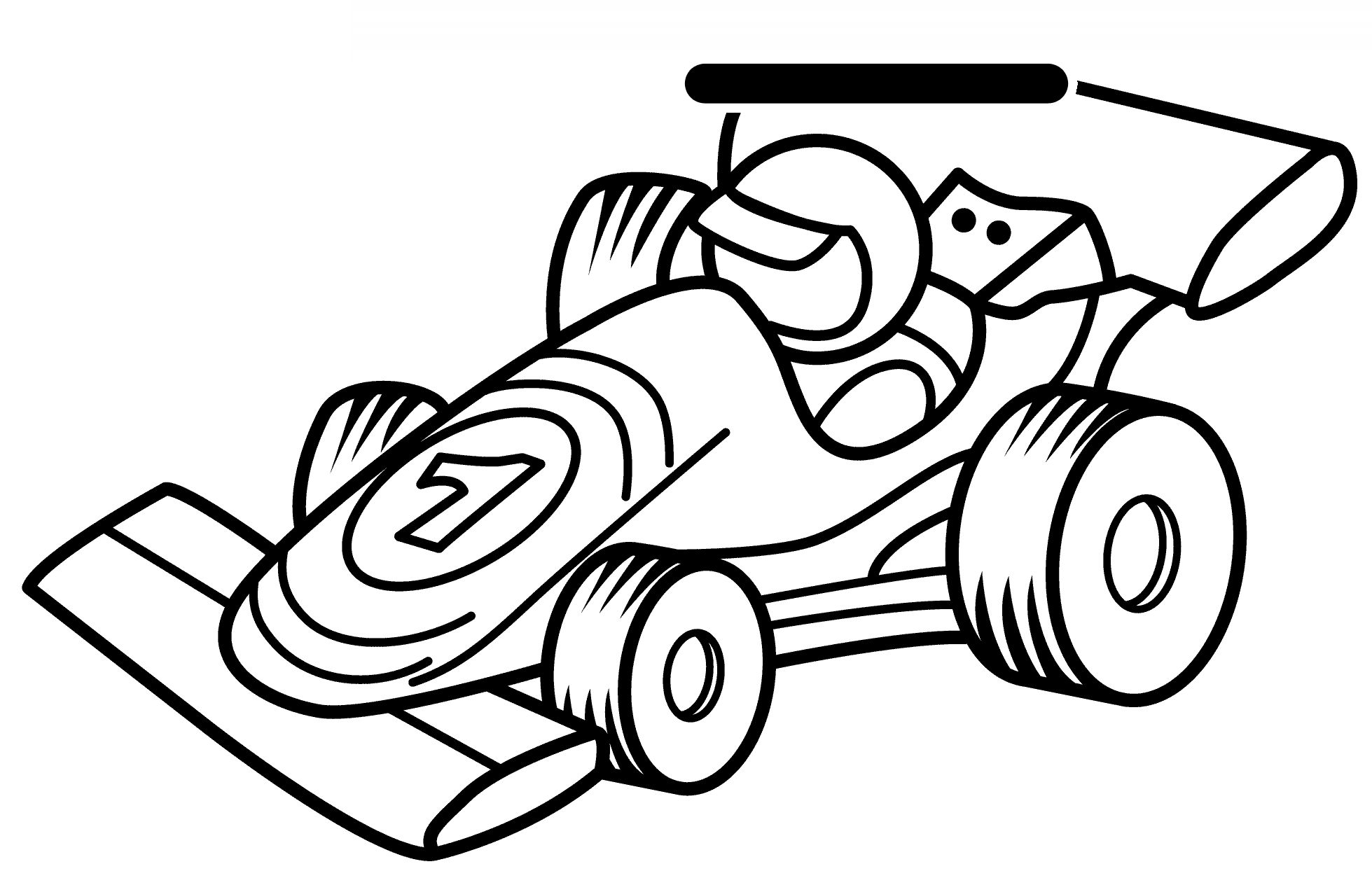 Race Car Drawing