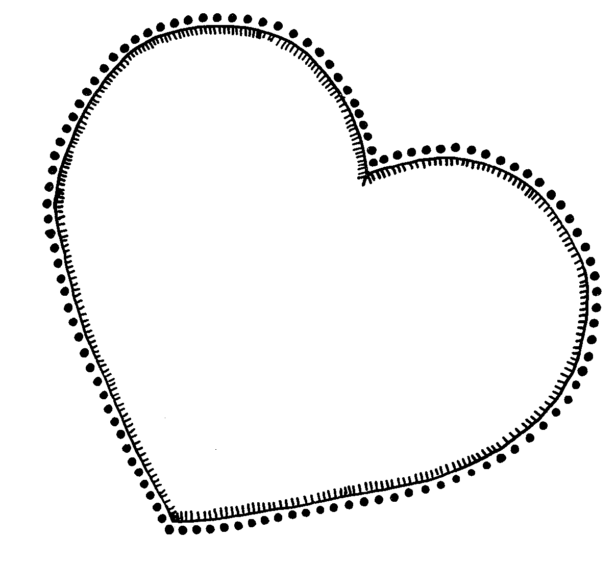 Heart Outlines Clip Art