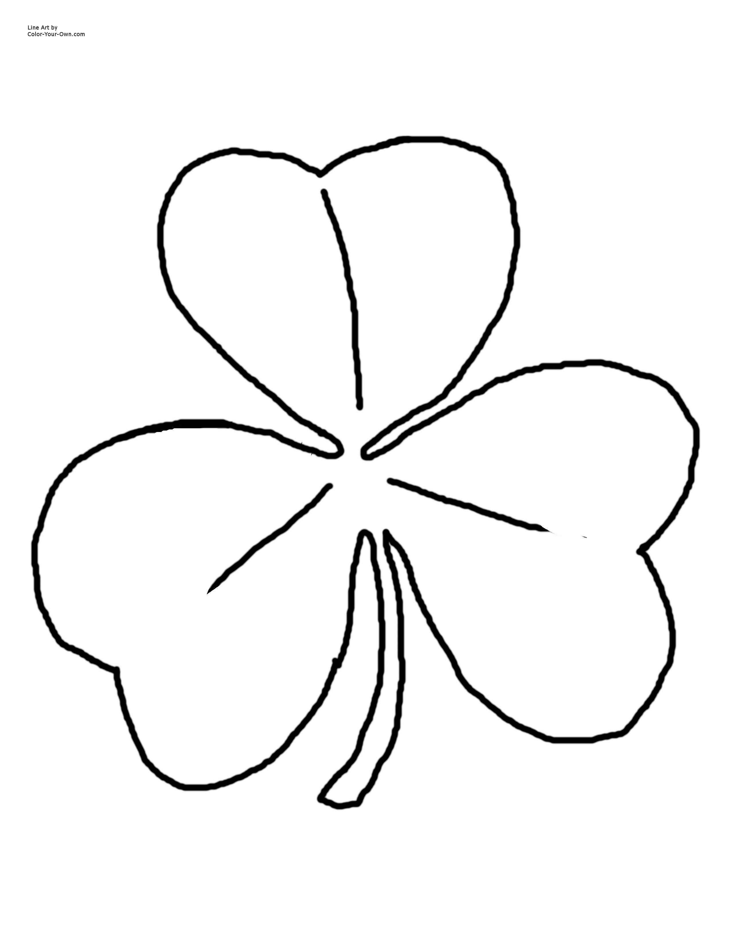 Celtic Shamrock Drawings
