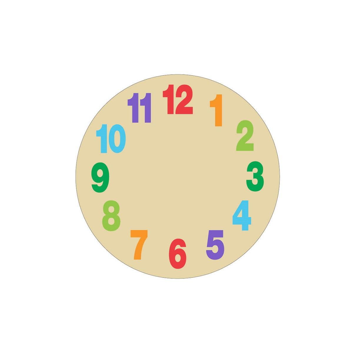 Clock Face For Kids
