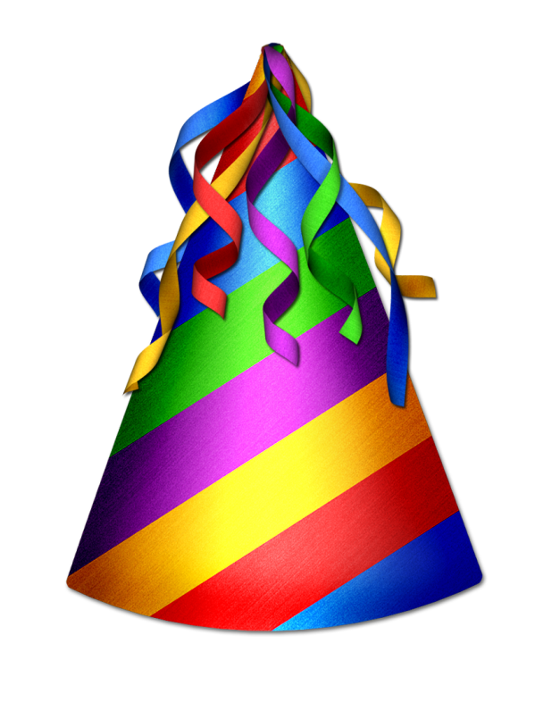 Party Hat Clipart Transparent Background