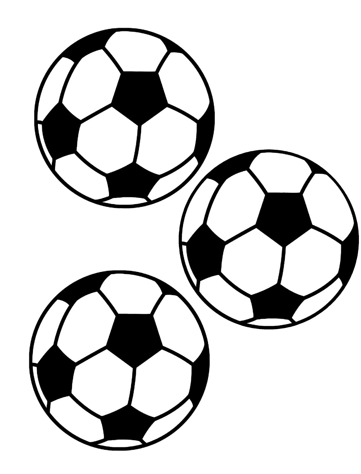 Printable Picture Of A Soccer Ball