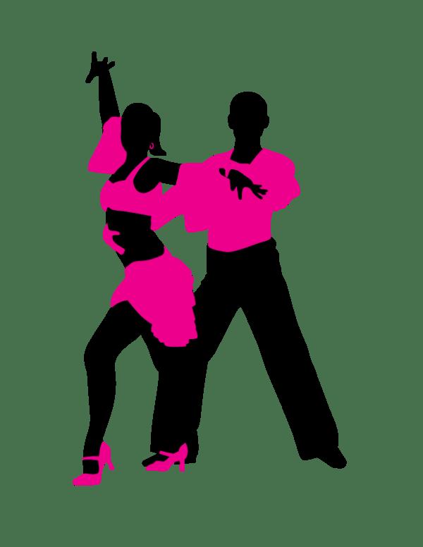 latin dancing - clipart