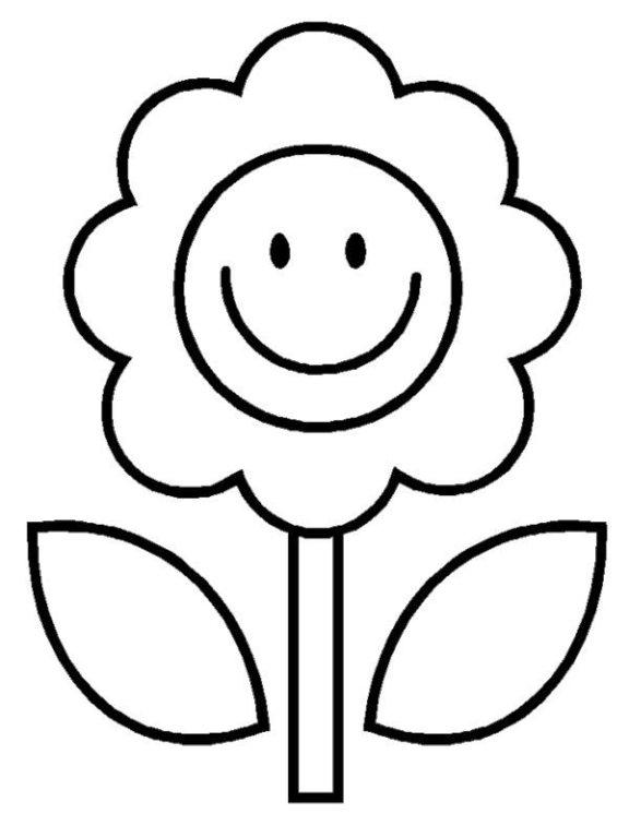 35+ Sketsa Gambar Bunga Animasi Hitam Putih