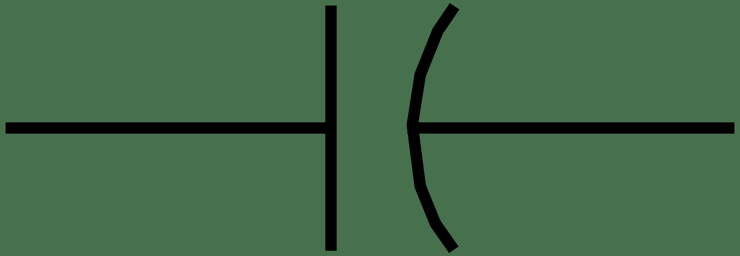 Symbol Of Capacitor