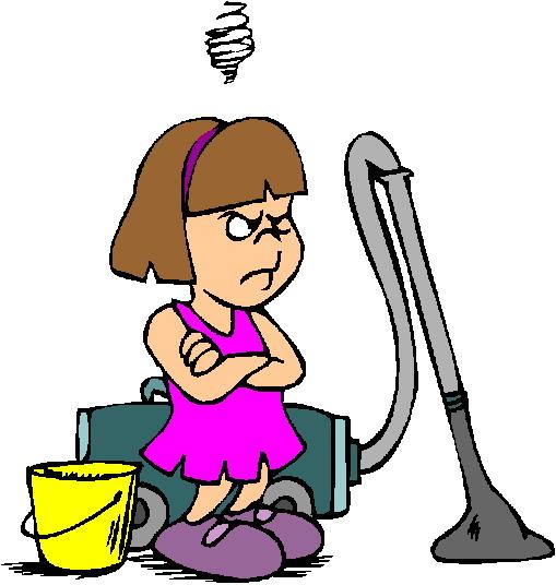 A homeschooling mum39s chore chart No Excuses! ClipArt