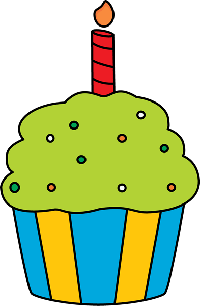 cute cupcake clip art - clipart