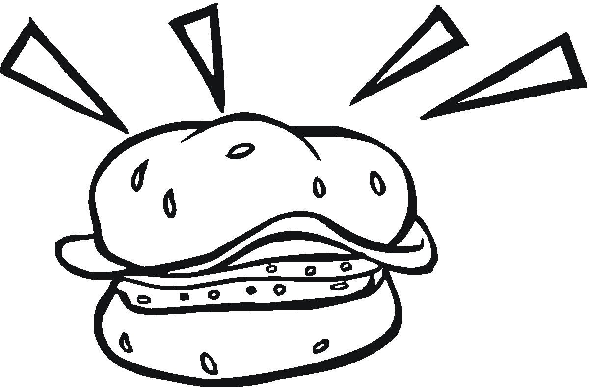 Loaf Of Bread Coloring Page