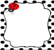 ladybug border clip art free
