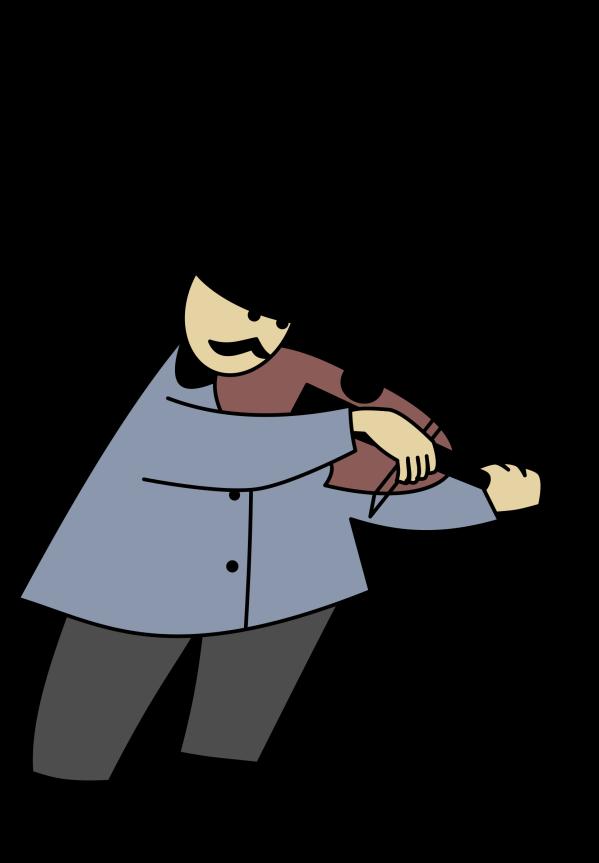 Fiddle Clip Art - Clipart