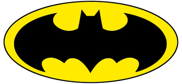 printable batman logo - clipart