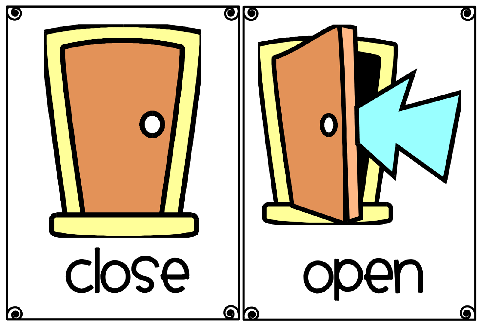 Window Open Window Close
