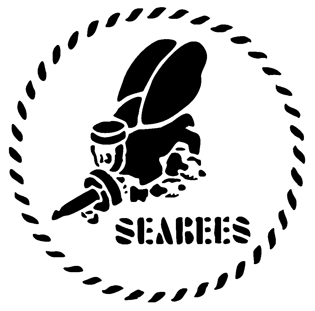 Navy Seabees Stencil Caps Typophile