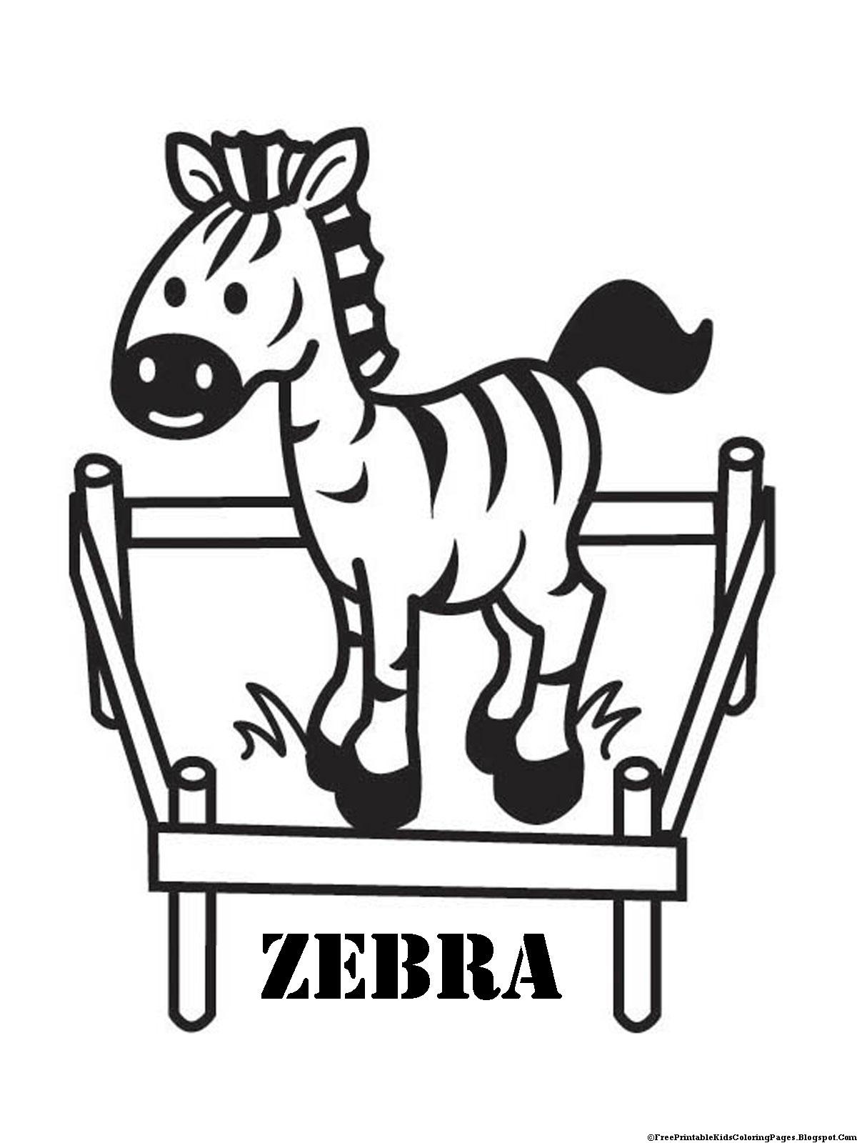 Zebra Outline