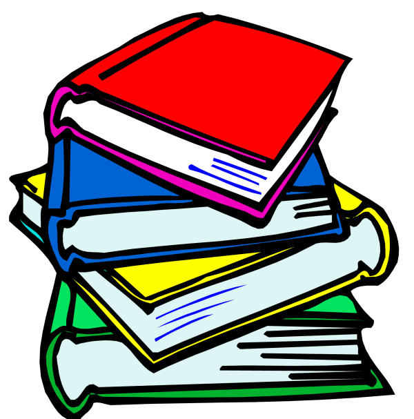 school books clipart animation