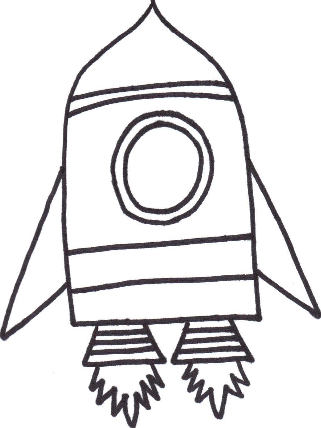Rocket Outline Images
