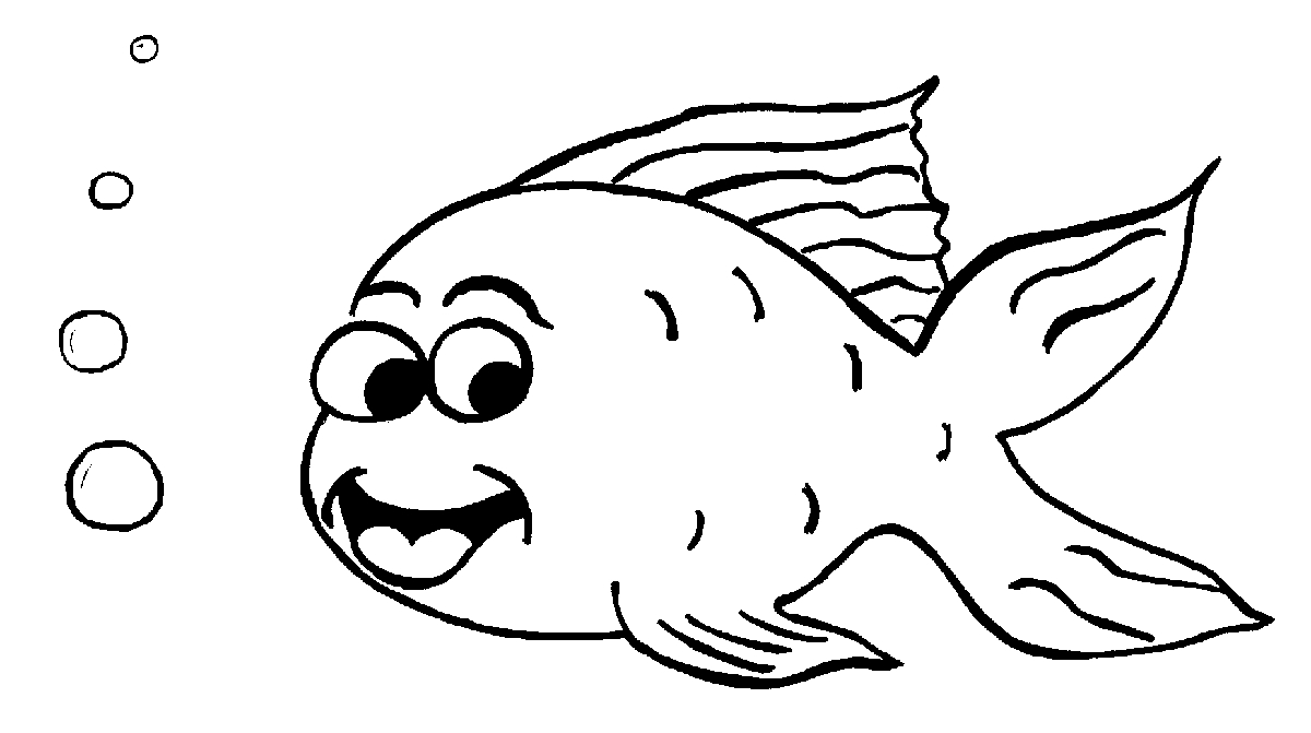 Golden Fish Coloring Pages  ClipArt Best