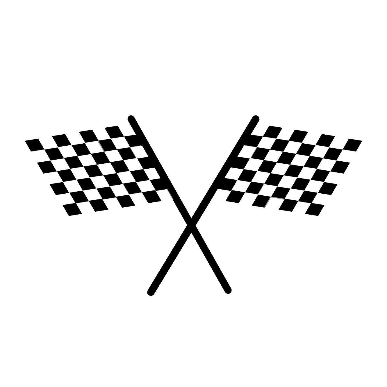 Wavy Checkered Flag